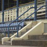 Old grandstand at Ballarat racecourse