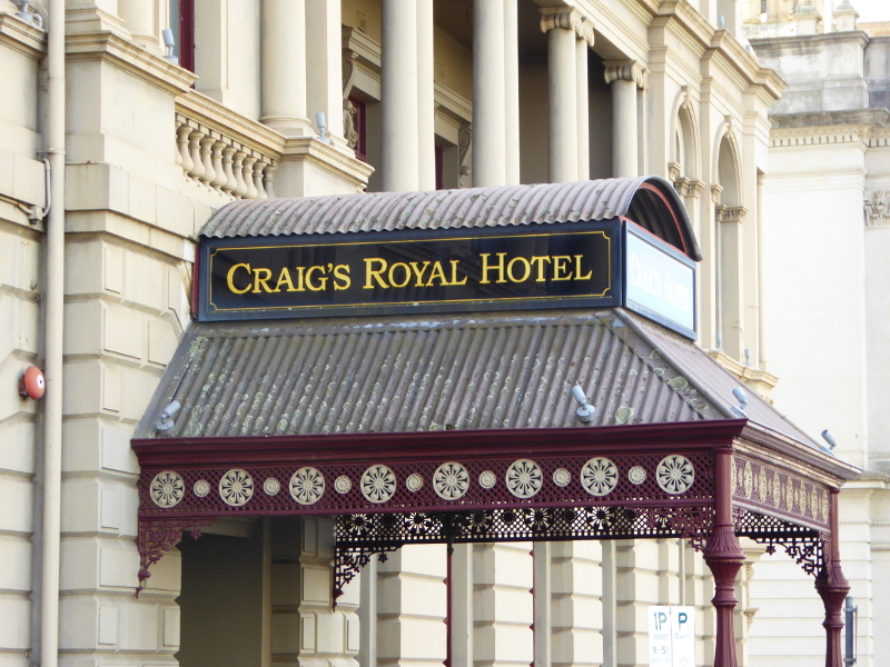 Craigs Royal Hotel in Ballarat