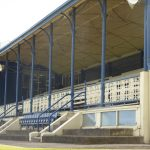 Ballarat racecourse grandstand