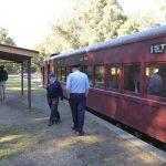 Daylesford Bullarto vintage railway