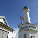 Looking up at Point Lonsdale lighthouse