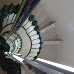 Inside Point Lonsdale lighthouse
