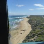 View down the coast from Point Lonsdale