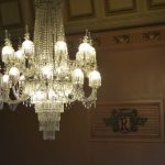 The Regent Theatre chandelier