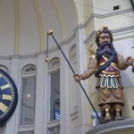 Gog & Magog in the Royal Arcade since 1892
