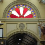 Father Time at the Royal Arcade Melbourne