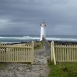 The old garden fence for Port Fairy Lighthouse