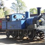 Maldon Station on the Victorian Goldfields Railway