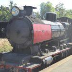Victorian Goldfields Railway steam engine