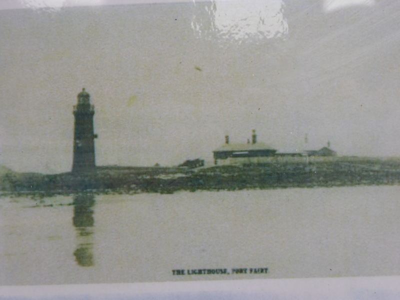 When the whole lighthouse was red
