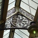 Intricate ironwork in the Block Arcade Melbourne