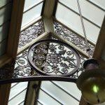Intricate ironwork in the Block Arcade Melbourne