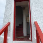 Lady Bay Upper Lighthouse door
