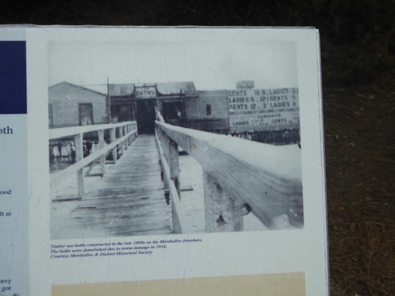 Old tidal baths near Mordialloc Pier