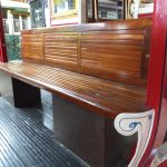Beautiful wooden seats