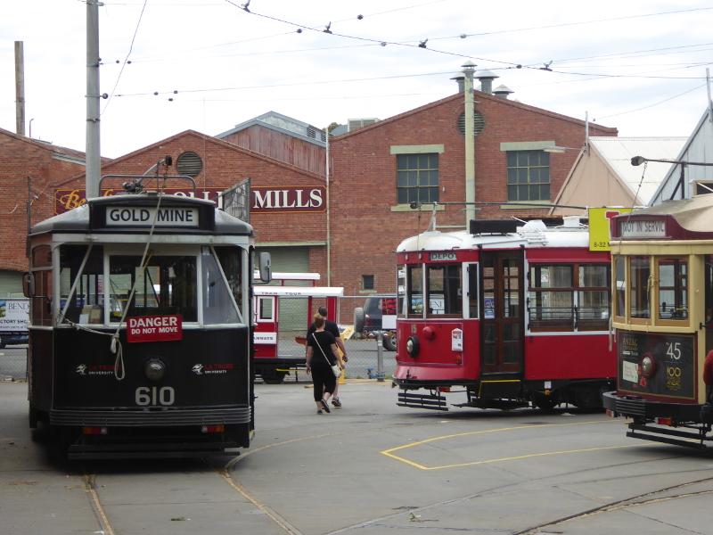 Tram depot in Bendigo