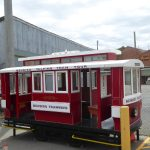 Some trams used to have an extra wagon