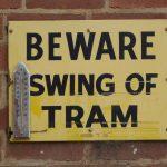 Watch those trams swing...