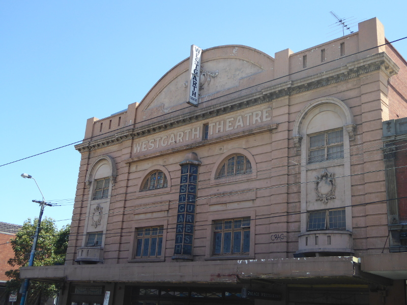 1920s facade to Westgarth Theatre