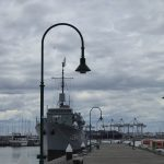 HMAS Castlemaine at Gem Pier