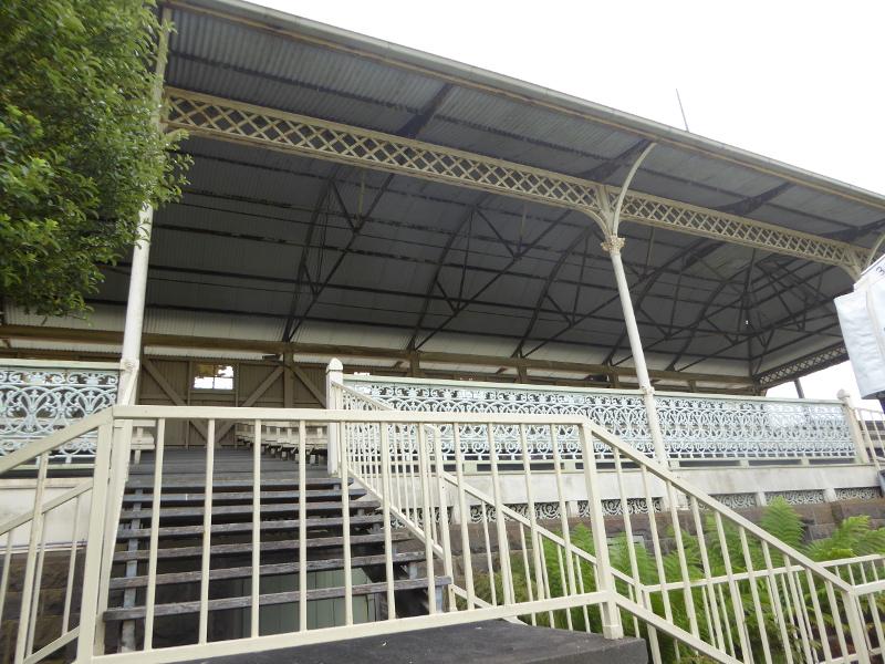 Hamilton racecourse 1873 grandstand