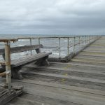 Altona Pier bench