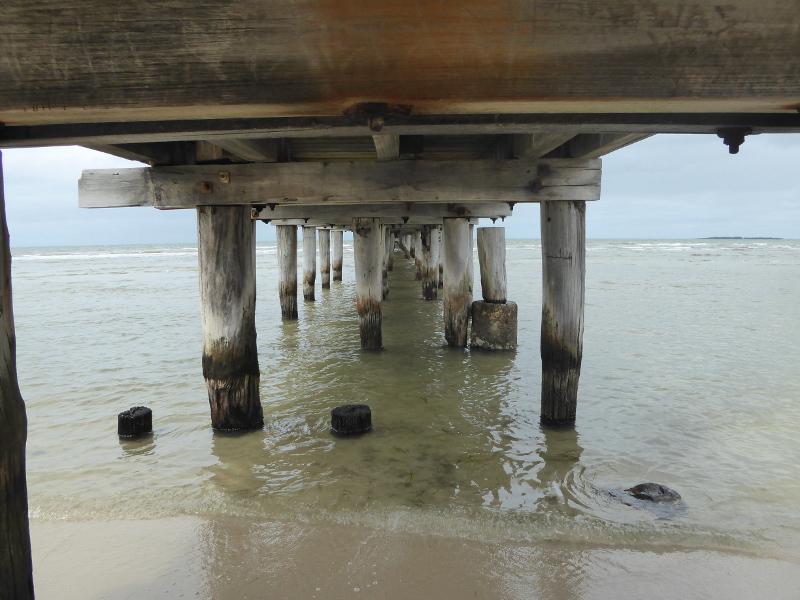 Under Altona Pier