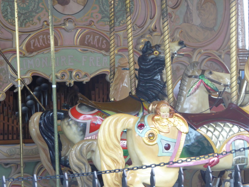 Carousel at Luna Park, Melbourne