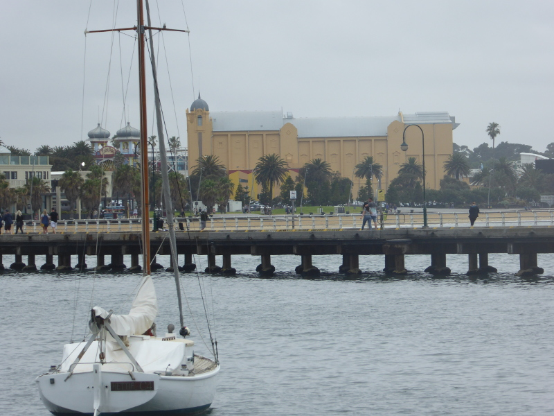 Palais Theatre St KIlda behind the pier
