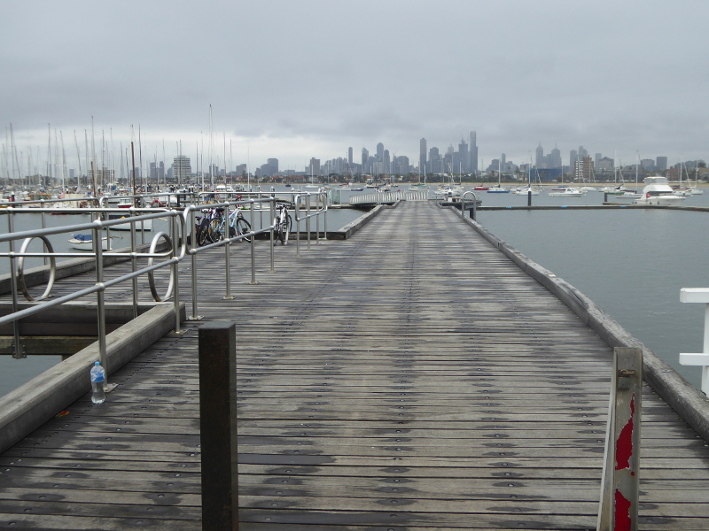 CBD views from St Kilda pier