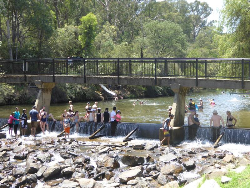 Ovens River dam