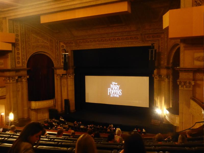 Auditorium at Melbourne's Regent Theatre