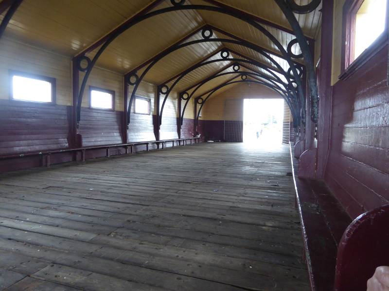 Shelter on Queenscliff Pier