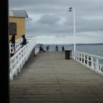 Fishing off the end of Queenscliff Pier