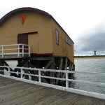 Lifeboat shed on Queenscliff Pier