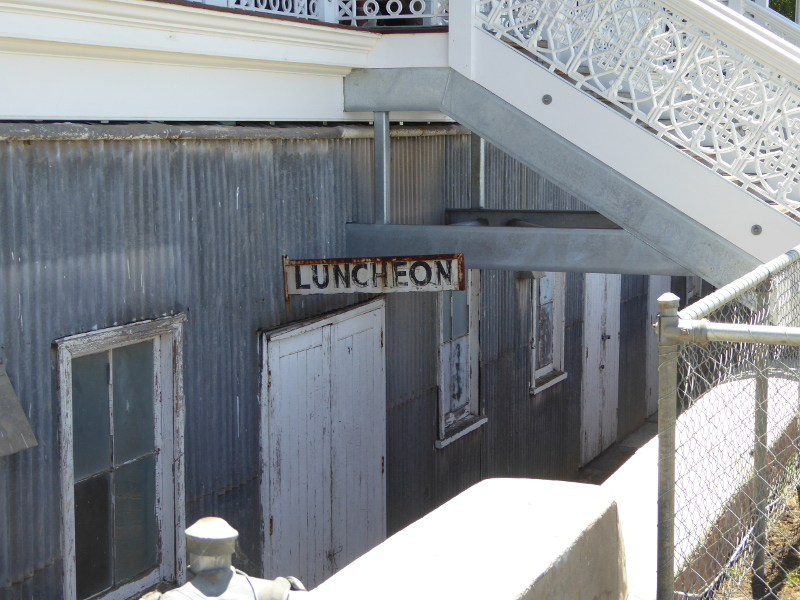 Luncheon rooms in the past