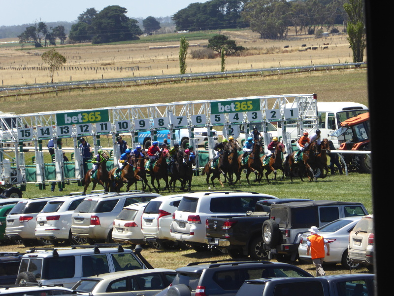 2000m start at Camperdown