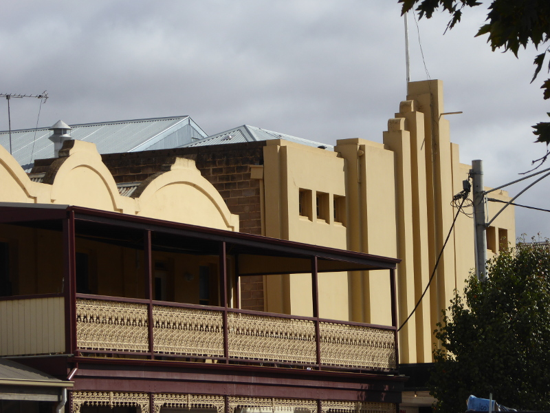 Rex Theatre in Charlton's main street