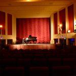Grand piano in Rex Theatre Charlton