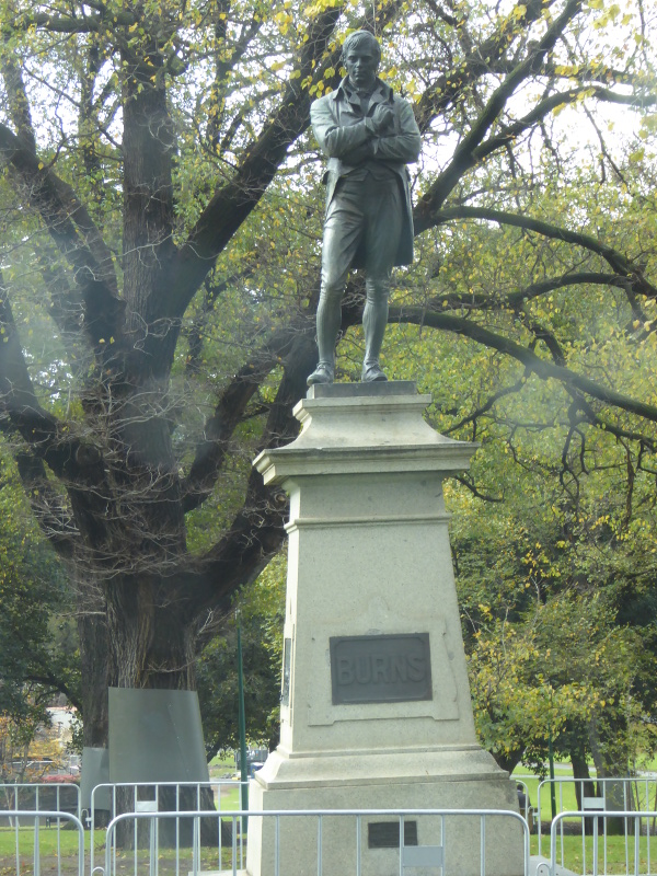 Robert Burns in Melbourne
