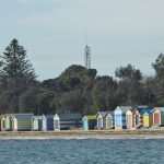 Beach huts at Dromana