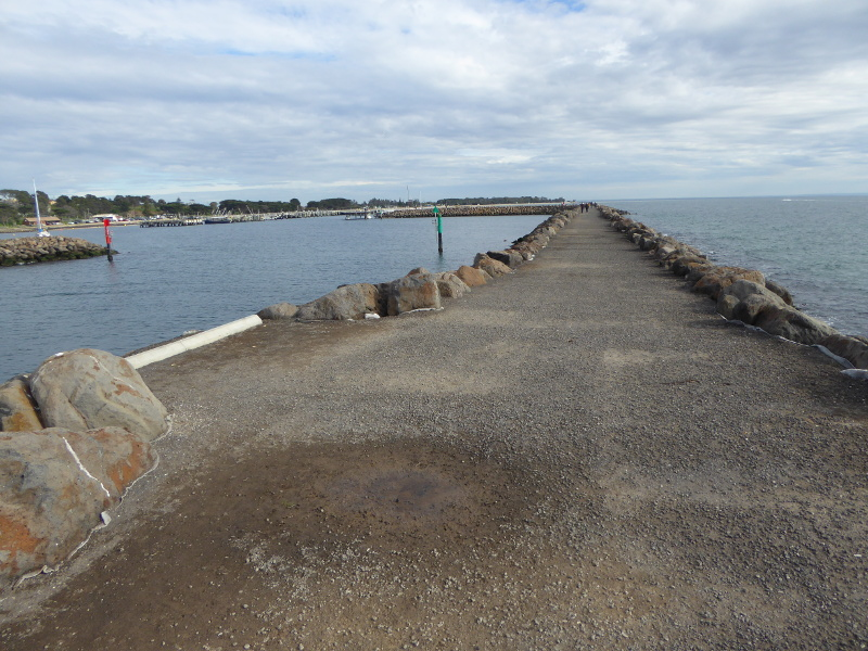 Breakwater at Portarlington Pier