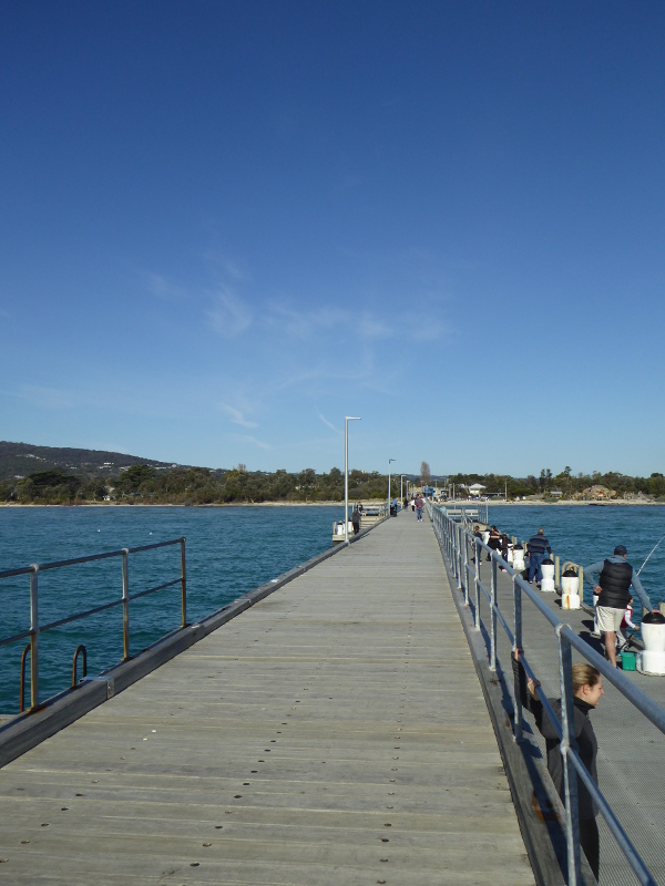 Rosebud Pier on Mornington Peninsula