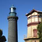 Queenscliff black lighthouse