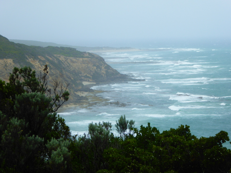 View from Cape Otway Lighthouse